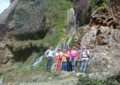 Beautiful waterfalls in Tazekka